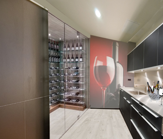 Foto de bodega privada kitchen | Wines Suite