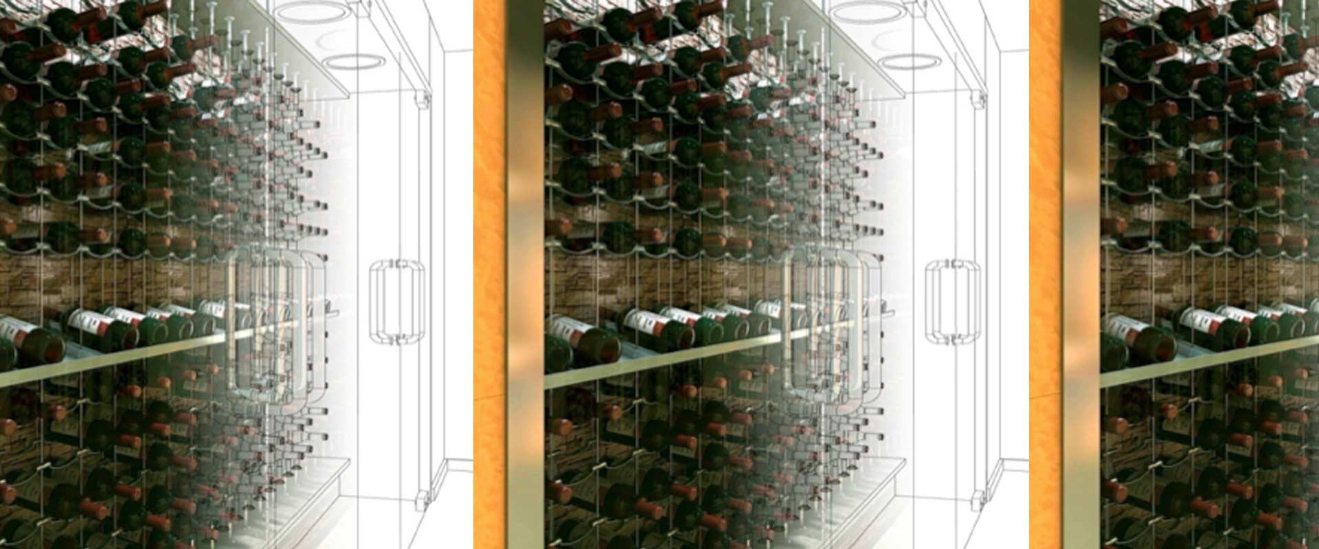 Montaje proyecto de vinoteca  Wines Suite