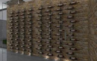 Bodega en casa en vivienda de Alella|Wines Suite
